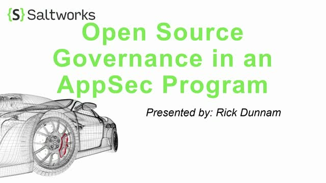 Shifting Left with Open Source Governance