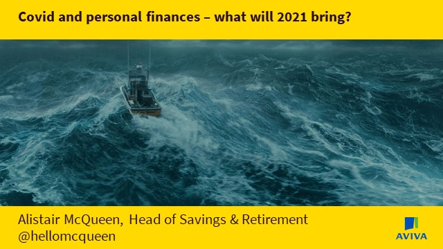 Covid and personal finance – what will 2021 bring?