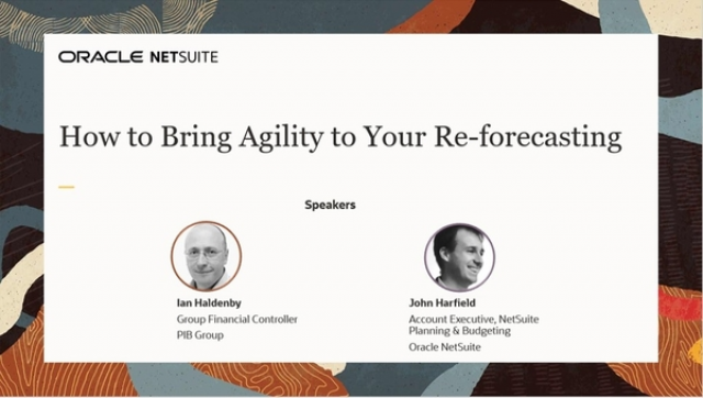 How to Bring Agility to Your Re-forecasting