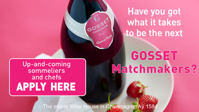 Gosset Matchmakers 2020 competition - Launch and live tasting