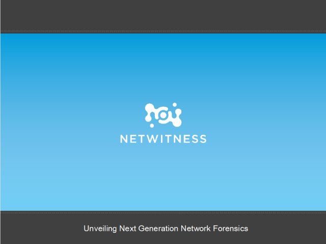 Unveiling Next Generation Network Forensics