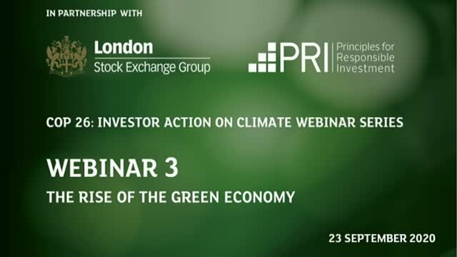Webinar 3: The Rise of the Green Economy