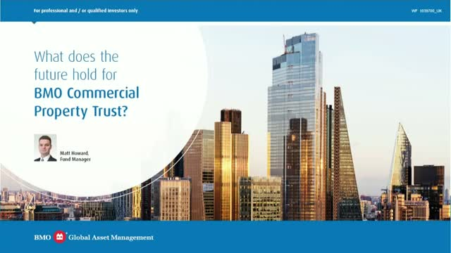 What does the future hold for BMO Commercial Property Trust?