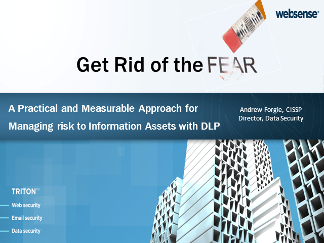 Get Rid of the Fear: A Practical Approach for Using DLP to Manage Risk