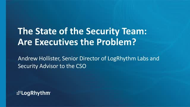 The State of the Security Team: Are Executives the Problem?