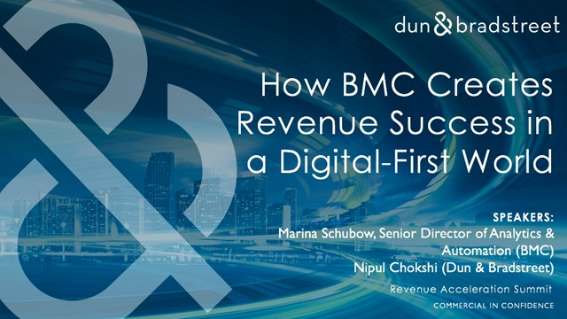 How BMC Creates Revenue Success in a Digital-First World