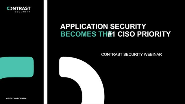 Application Security Jumps to the Top of the CISO's List of Priorities