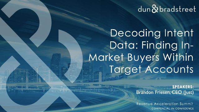 Decoding Intent Data: Finding In-Market Buyers Within Target Accounts