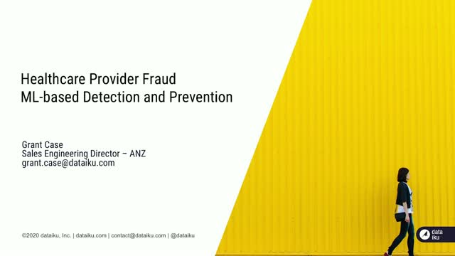 ML-based Fraud Detection and Prevention in Healthcare