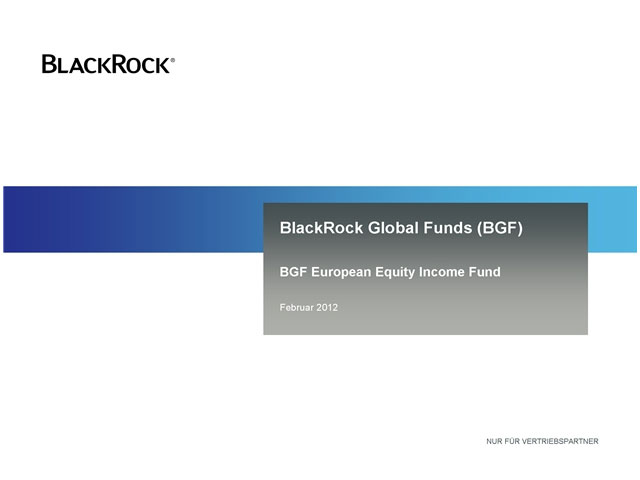 BGF European Equity Income Fund