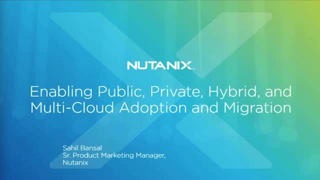 Supporting Public, Private, Hybrid, and Multi-Cloud Efforts