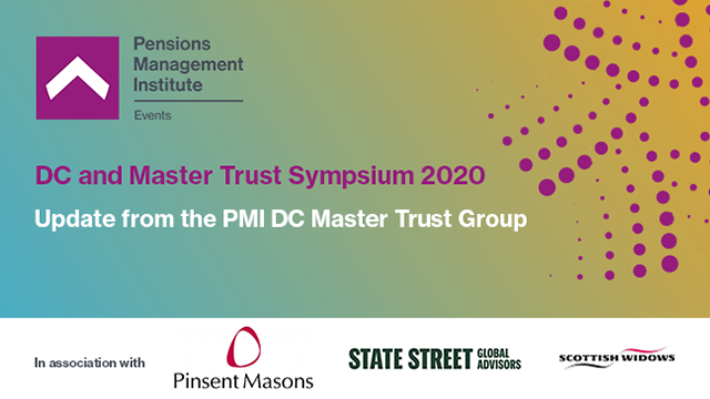 Update from the PMI DC Master Trust Group