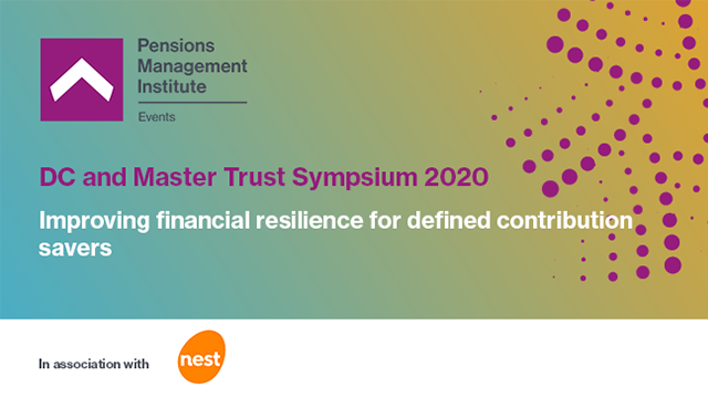 Improving financial resilience for defined contribution savers