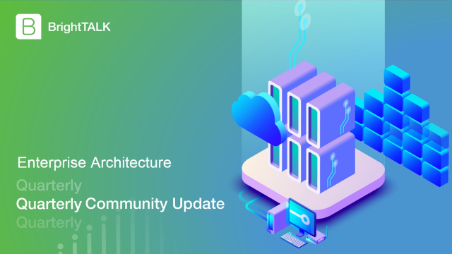 Up to the Minute: Enterprise Architecture Community Update