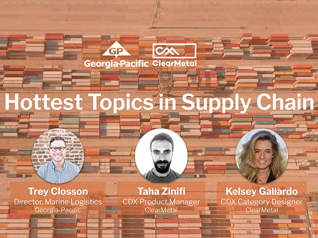 Hottest Topics in Supply Chain