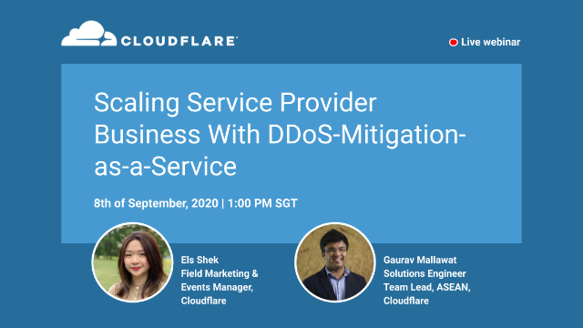 Scaling Service Provider Business With DDoS-Mitigation-as-a-Service