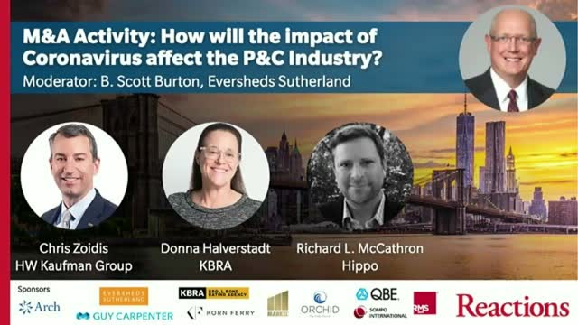 M&A Activity: How will the impact of the coronavirus affect the P&C industry?