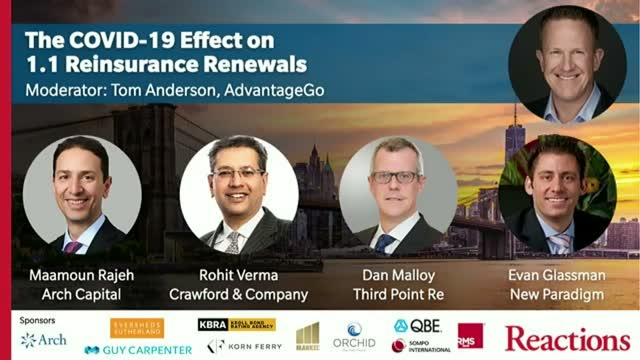 The COVID-19 effect on 1.1 Reinsurance renewals