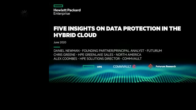 5 Insights on Data Protection in the Hybrid Cloud