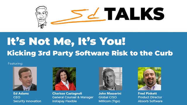 It's Not Me, it's You! Kicking 3rd-Party Software Risk to the Curb