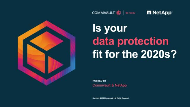 Is your data protection fit for the 2020s
