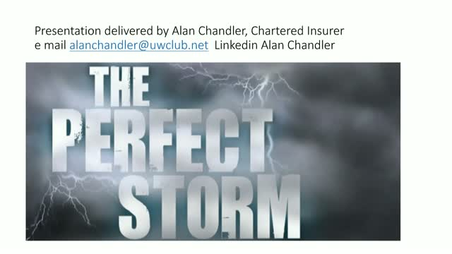 Perfect Storm - seven reasons why there will be a hard market