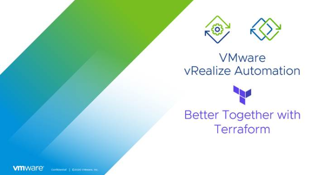Introducing Terraform in vRealize Automation