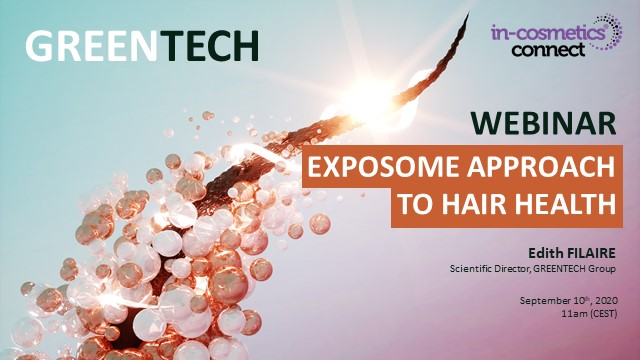 Exposome approach to hair health