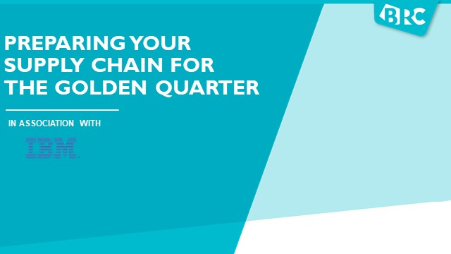 Preparing your Supply Chain for the Golden Quarter