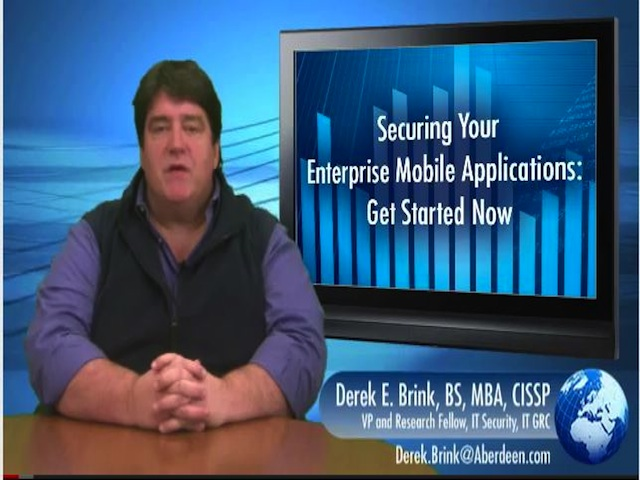 Securing Your Enterprise - Mobile Applications