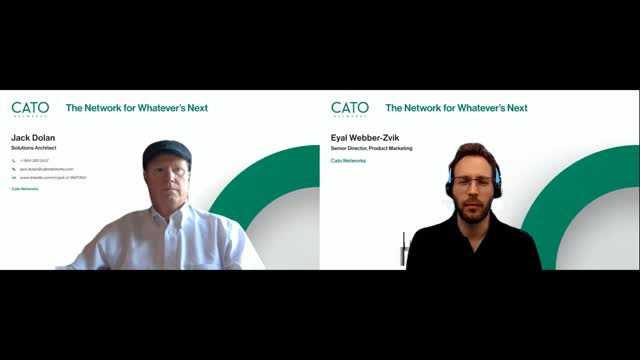Demo: Bi-directional QoS, advanced bandwidth management, and real-time applicat
