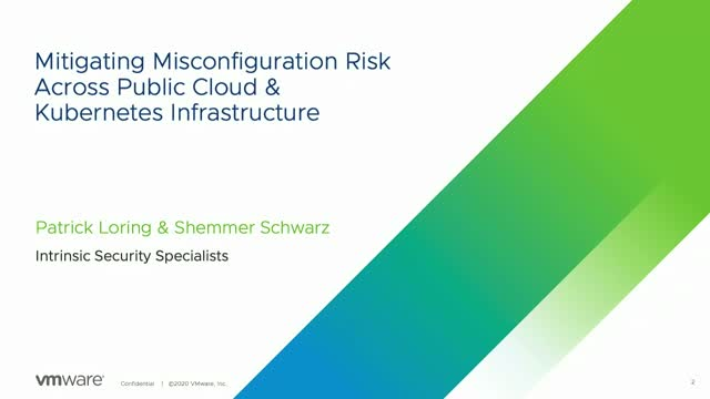Mitigating Misconfiguration Risk Across Public Cloud & Kubernetes Infrastructure