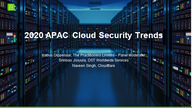 2020 APAC Cloud Security Trends