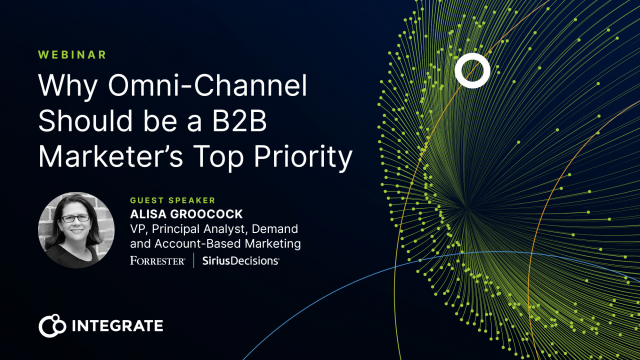 Why Omni-Channel Should be a B2B Marketer's Top Priority