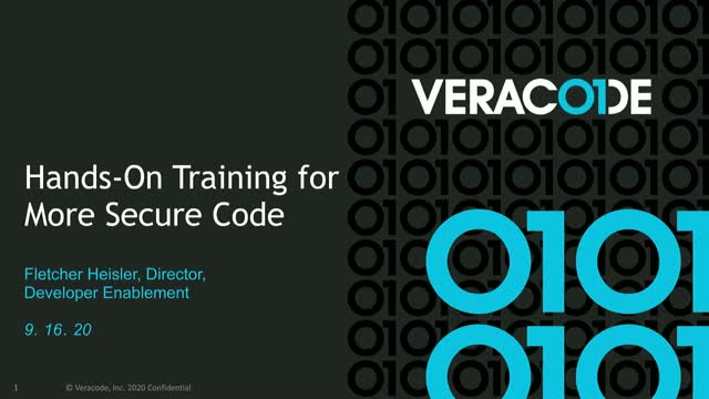 An Introduction to Hands-On Training for More Secure Code