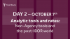 Analytic tools and rates: Non-Agency tools and the post-IBOR world