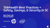 HP/HIMSS: Telehealth Best Practices: Safety, Savings, and Security in SC
