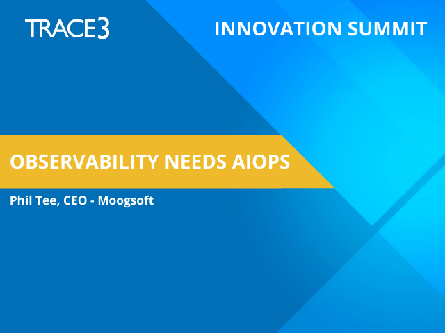 Observability Needs AIOps