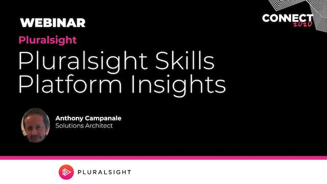Pluralsight Skills Platform Insights