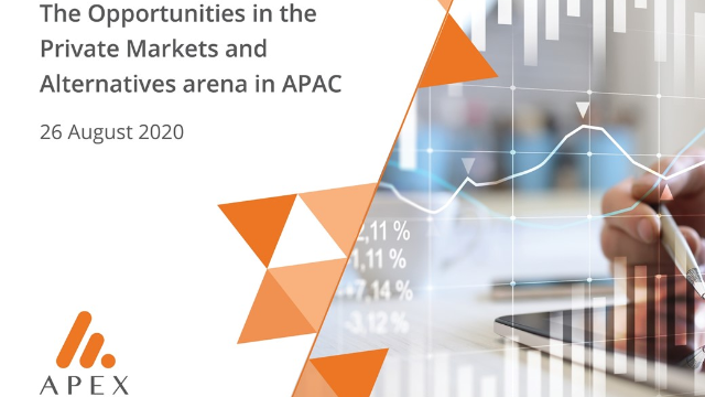 The Opportunities in the Private Markets and Alternatives arena in APAC