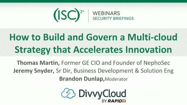 How to Build and Govern a Multi-cloud Strategy that Accelerates Innovation