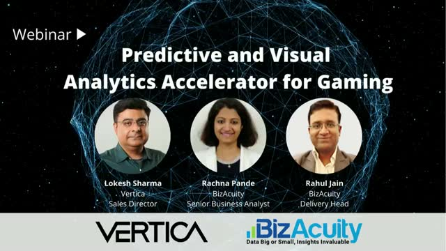 Predictive and Visual analytics accelerator for Gaming