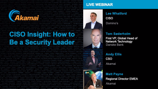 CISO Insight: How to Be a Security Leader