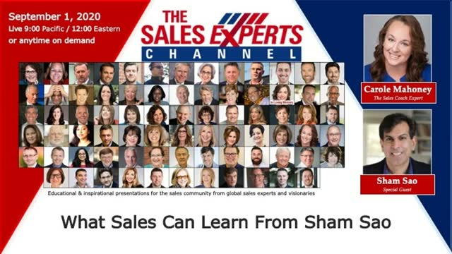 What Sales Can Learn From Sham Sao