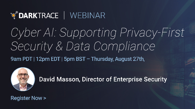 Cyber AI: Supporting Privacy-First Security & Data Compliance