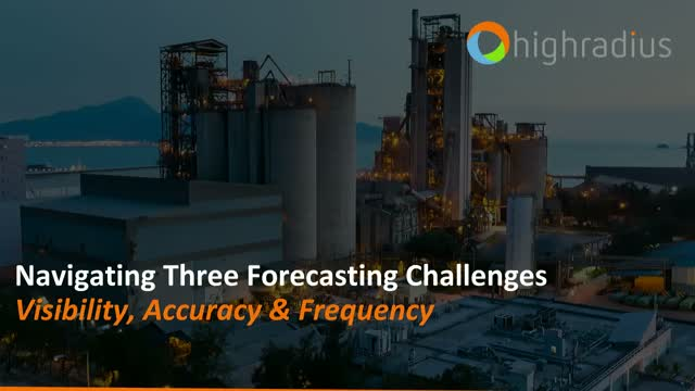 Navigating Three Forecasting Challenges: Visibility, Accuracy, Frequency