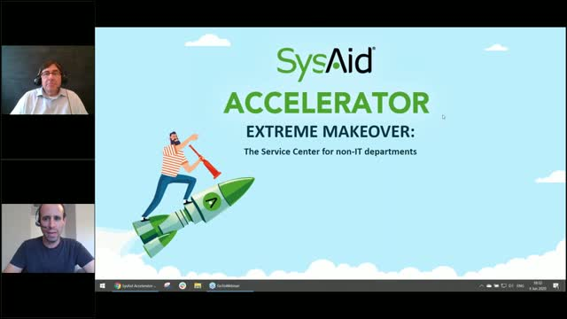 Extreme Makeover: The Service Center for non-IT departments (ESM)
