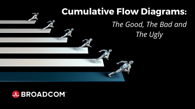 Cumulative Flow Diagrams: The Good, The Bad and The Ugly