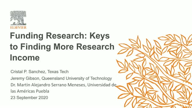 Funding Research: Keys to Finding More Research Income