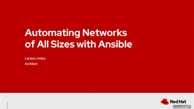 Automating networks of all sizes with Red Hat Ansible Automation Platform